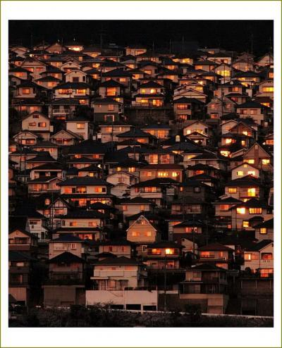 Solitary Journey [夕陽特別編]<夕陽に輝く住宅街の夕景>広島県&<周防大島の嵩山(だけさん、標高619m)山頂からの景色♪>山口県
