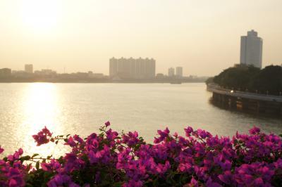 20111123 広州 夕暮れの沙面散歩