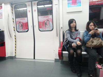 20111125 佛山 広州から日帰りで行ってみました。地下鉄で