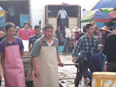 20111126 広州 黄沙水産市場 → 清平路