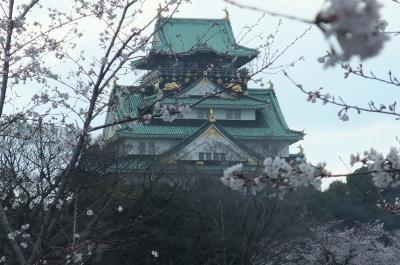 大阪城お花見とコリアンタウン