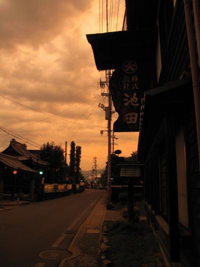 2011年8月 長野県(小布施、戸隠、上田)