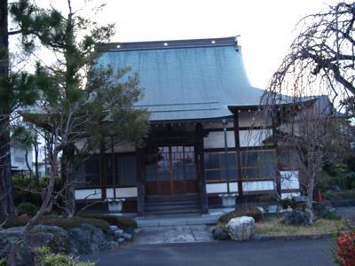 永明寺別院(横浜市泉区岡津町)