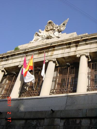2001年2月スペイン旅行