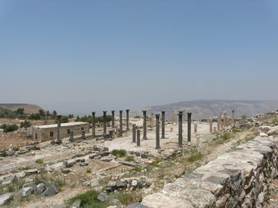 ヨルダン一週間4 ウム・カイスから隣国を眺める