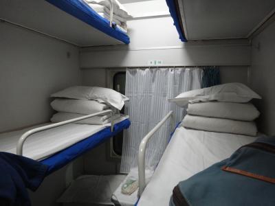 20111203 桂林(陽朔)に向かって、夜行列車