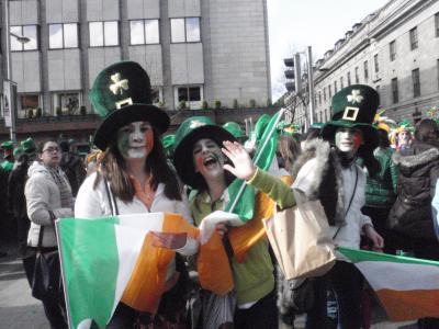 St.Patricks Parade in Dublin!!