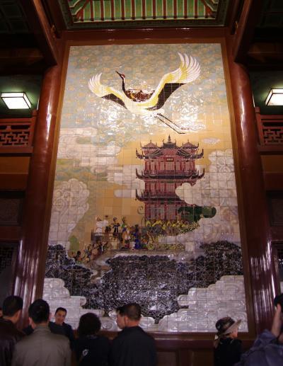 桂林・漓江下りと長江クルーズ(その16・黄鶴楼)
