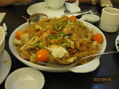 美味しい、人気のある中華レストラン in マニラ  4月  2012年