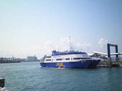 2012.03 韓国鉄道旅行(19)高速船ドリーム号で釜山港から博多港へ