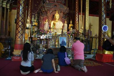 20120224 チェンマイ Wat Chedi Luang → Wat Phan Tao → Wat Phra Singh → Wat Chiang Man