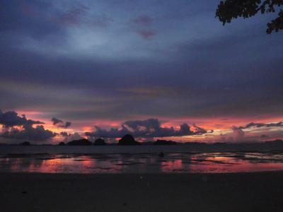 雨期前のクラビ タプケークビーチ Tub Keak Beach before rainny season starts