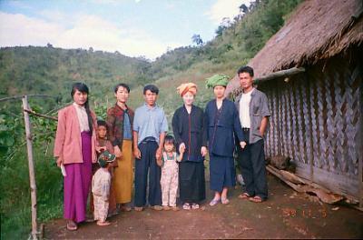 【 1999年 ミャンマー旅行 】 ~少数民族パオ族~