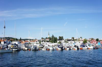 クリスチャンサン:静かで綺麗な港町