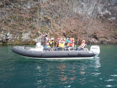 十和田湖 謎のキリスト像 グリランド ボートツアー