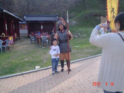 3度目の韓国、百済を探してソウル・扶余・公州・全州へ-10-公州編、公山城