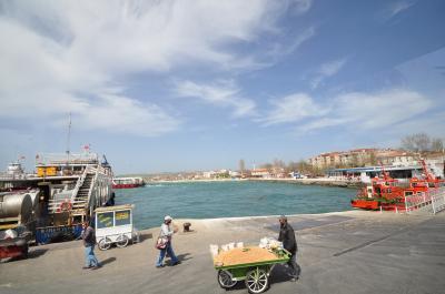トルコ旅行 その3 ダーダネルス海峡からトロイへ 2012.4.8