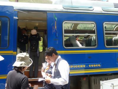 msa710南米周遊旅情7章①ヴィスタードームでマチュピチュの麓の町アグアスカリエンテへ  in マチュピチュ