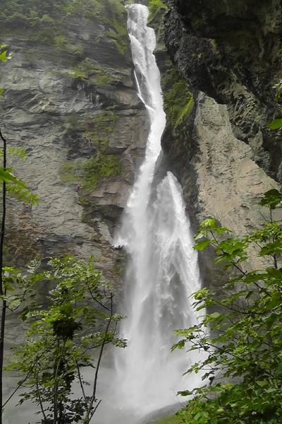 スイスハイキング4日目(シャーロック・ホームズ博物館、ライヒェンバッハの滝、アーレシュルフト)