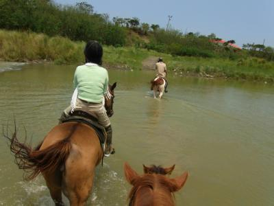 2012GW 2泊(になってしまった)4日、台湾南部の旅⑤-体験乗馬