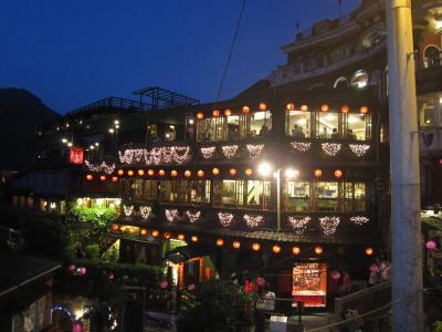 台北は何度来てもいいですねぇ・・・ 2012年5月 旅行記 3日目②(夜の九分)