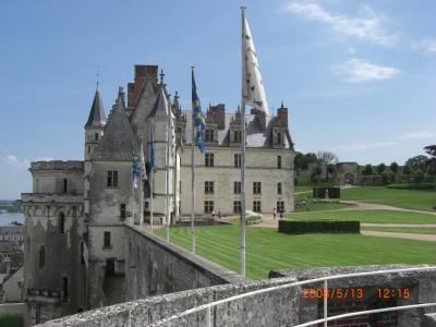 ⑨ Chateau D'Amboise ロワール城巡り:初夏を楽しむSncf3600KM