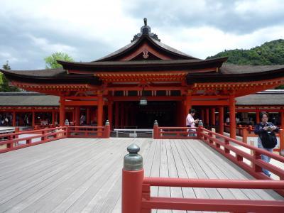 のんびり食べ歩き、広島の旅(宮島編)