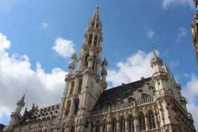 ベルギードイツ旅行:1日目(ブリュッセル-1)
