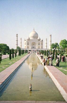 【 1999年 インド旅行 】 ~アグラ 白亜の霊廟~