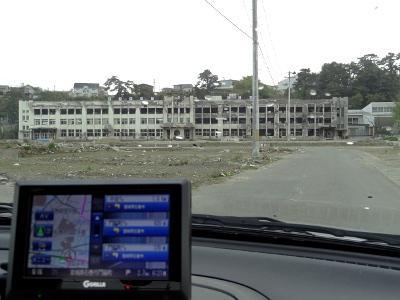 東日本大震災 被災地10ヶ所めぐり その2(石巻市、門脇小学校)