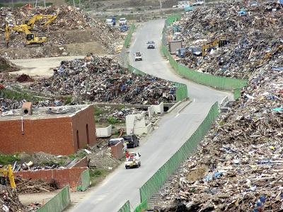 東日本大震災 被災地10ヶ所めぐり その3(女川町、大川小学校)