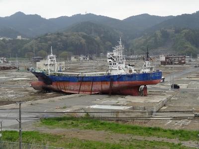 東日本大震災 被災地10ヶ所めぐり その4(南三陸町、大谷海岸、気仙沼市)