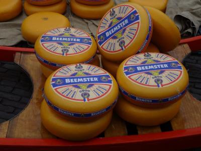 オランダ1&2日目 -アルクマールのチーズ市-