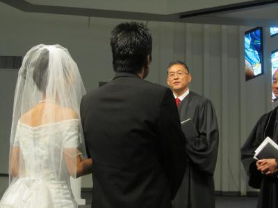 息子の結婚式でロサンゼルスへ家族旅行⑨厳かな結婚式