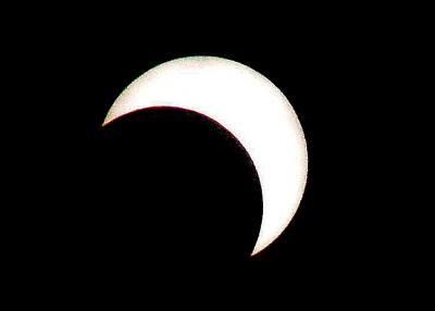 天与の金環日食