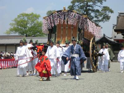 京都三大祭①:5月16日の葵祭を見る