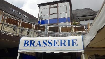 ヴァンヌ 昼食は・・・La Brasserie Bleueで