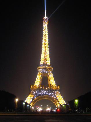 フランス旅行2010 パリと郊外の旅②モンサンミシェルとパリの夜
