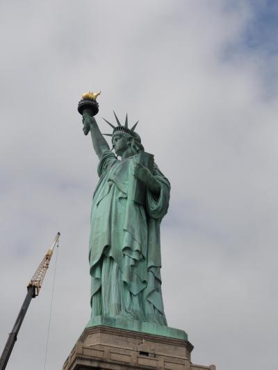 最新鋭旅客機B-787でJAL新路線成田~ボストン、NYへ行くー⑭ 125周年の自由の女神 5月 2012年