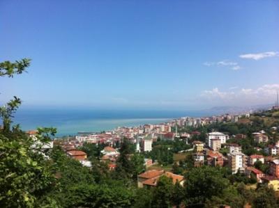 トルコの黒海にある観光地トラブゾン