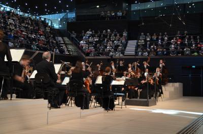 音楽都市ヘルシンキ:新しいミュージックセンターホールでヘルシンキフィルを聴く