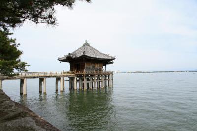 近江最古の大社 白鬚神社、近江八景「堅田の落雁」で名高い浮御堂参拝