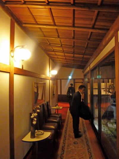 【国内89】大牟田出張とんぼ返り‐料亭一里