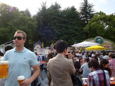 日比谷公園のドイツフェア
