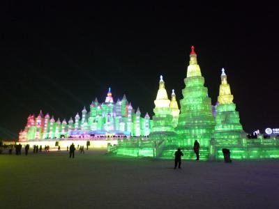 2011年 哈爾濱で氷祭りとロシア料理を楽しむ旅