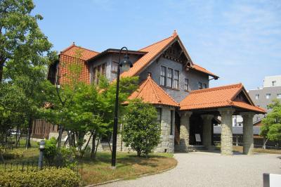 2012春、日本の女優第1号・川上貞奴所縁の二葉館(1)文化の道・二葉館、文学資料館
