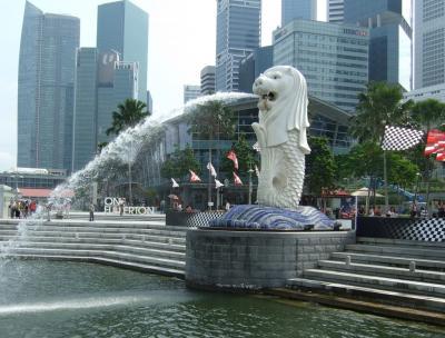 モルディブ旅行記2009 シンガポール観光編