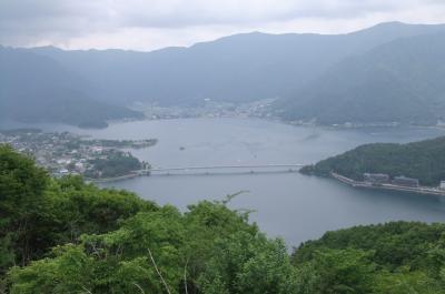 富士登山電車に乗って河口湖周辺へ