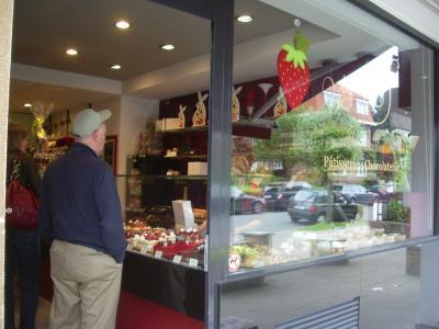 ブリュッセルでチョコレート店探索