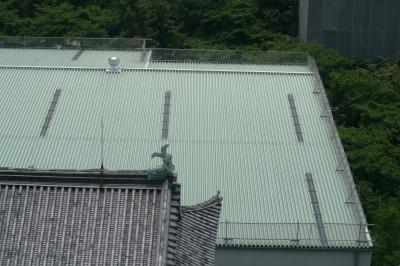 2012春、本丸御殿再建中の名古屋城(2:完)天守閣からの眺望、再建中の本丸御殿